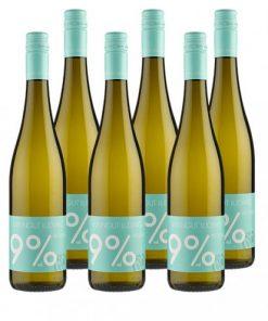 6er-Paket 9 % vol Riesling 2016 -   - Weinpakete