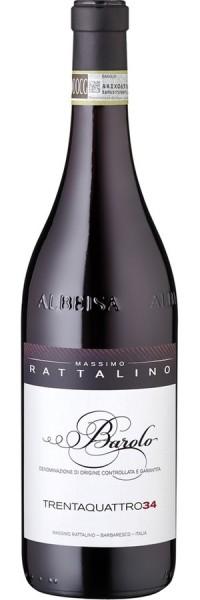 Barolo Trentaquattro 34 - 2011 - Massimo Rattalino - Rotwein