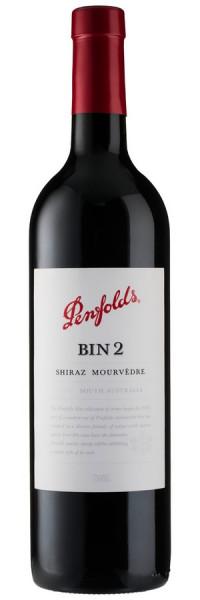Bin 2 Shiraz - Mourvedre - 2015 - Penfolds - Rotwein
