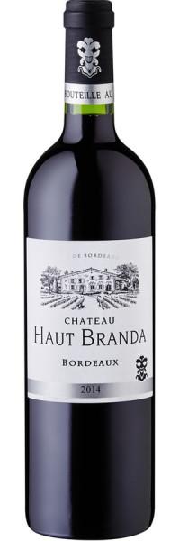 Bordeaux - 2014 - Chateau Haut Branda - Rotwein