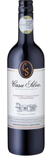 Cabernet Sauvignon & Carménère - 2016 - Casa Silva - Rotwein