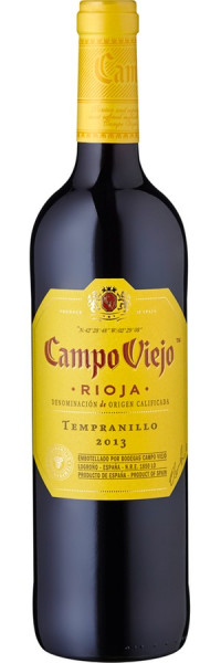 Campo Viejo Rioja Tempranillo - 2014 - Campo Viejo - Rotwein