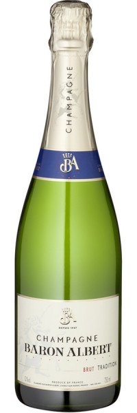 "Champagner Brut ""Tradition"" - Baron Albert - Prickelndes"