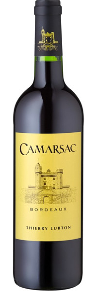 Château Camarsac Bordeaux - 2015 - Thierry Lurton - Rotwein