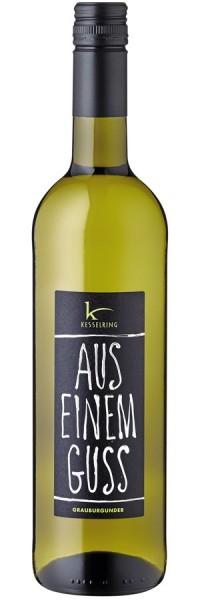 """Grauburgunder """"Aus einem Guss"""" - 2016 - Kesselring - Weißwein"""