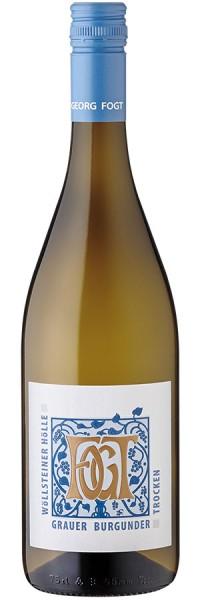 Grauer Burgunder trocken Wöllsteiner Hölle - 2016 - Fogt - Weißwein