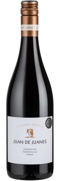 Juan de Juanes Vendimia Bronce Garnacha Tempranillo Syrah - 2015 - Bodega La Viña - Rotwein