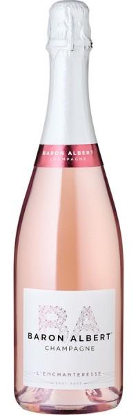L'Enchanteresse Champagner Brut Rosé - Baron Albert - Prickelndes