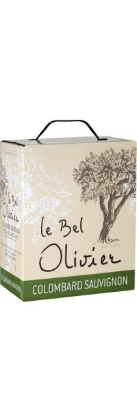 Le Bel Olivier Bag-in-Box - 3 l - 2016 - Grands Vins Saint Chinian Cébazan - Weißwein