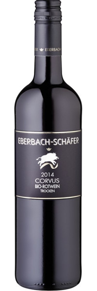 "Lemberger trocken QbA ""Corvus"" (Bio) - 2014 - Eberbach-Schäfer - Rotwein"