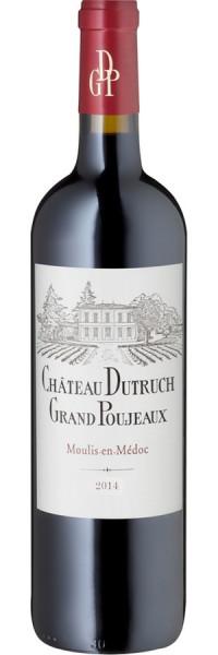 Moulis-en-Médoc - 2014 - Château Dutruch Grand Poujeaux - Rotwein