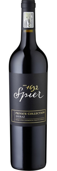 Private Collection Shiraz - 2014 - Spier - Rotwein