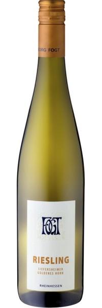 Riesling trockenSiefersheimer Goldenes Horn - 2016 - Fogt - Weißwein