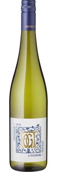 Scheurebe trocken - 2016 - Fogt - Weißwein