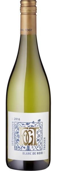 Spätburgunder Blanc de Noir - 2016 - Fogt - Weißwein