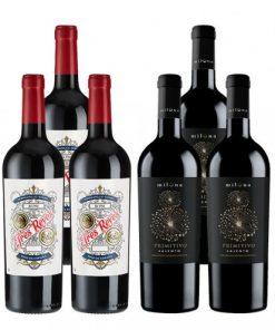 Weinfreunde Siegerweine - 6er Paket -   - Weinpakete