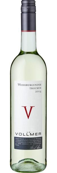 Weissburgunder trocken - 2015 - Heinrich Vollmer - Weißwein