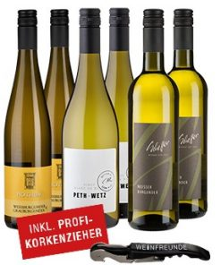 Weiße Favoriten - 6er Wein-Paket inkl. Korkenzieher -   - Campaign Bundles