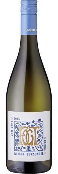 Weißer Burgunder trocken - 2016 - Fogt - Weißwein