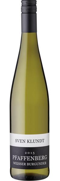 Weißer Burgunder trocken - 2016 - Klundt - Weißwein