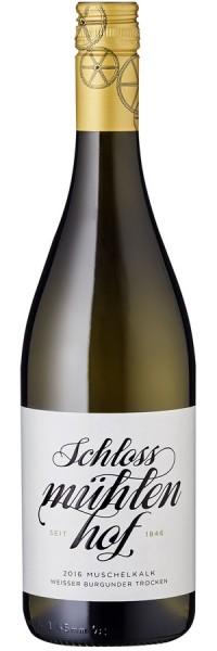 Weißer Burgunder trocken Muschelkalk - 2016 - Schlossmühlenhof - Weißwein